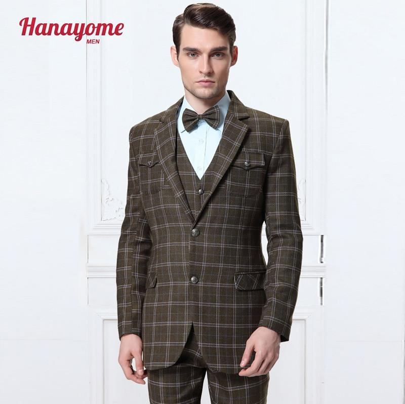 Green Classic Photography Studio Men Slim Fit Suit Blazers
