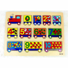 Pengiriman gratis, teka-teki digital, mainan edukatif, teka-teki kereta, pengajaran AIDS montessori, mainan anak-anak