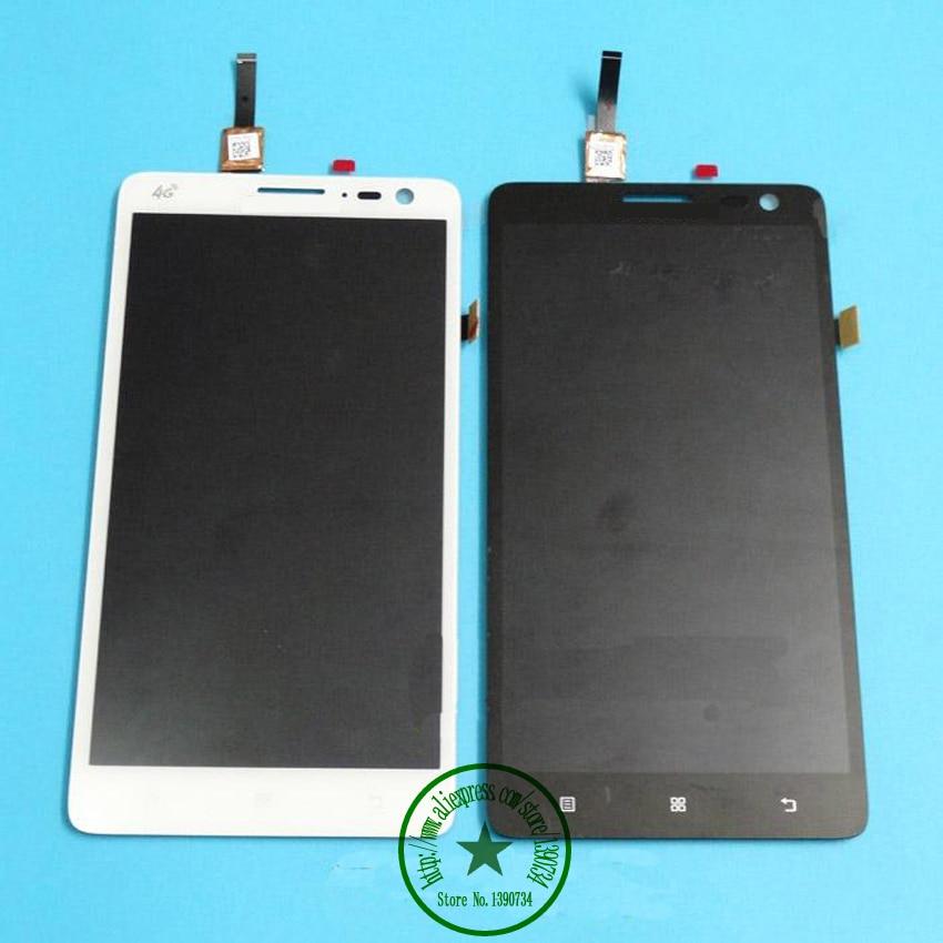 Negro/blanco 100% nuevo lcd display + touch screen panel de cristal digitalizado