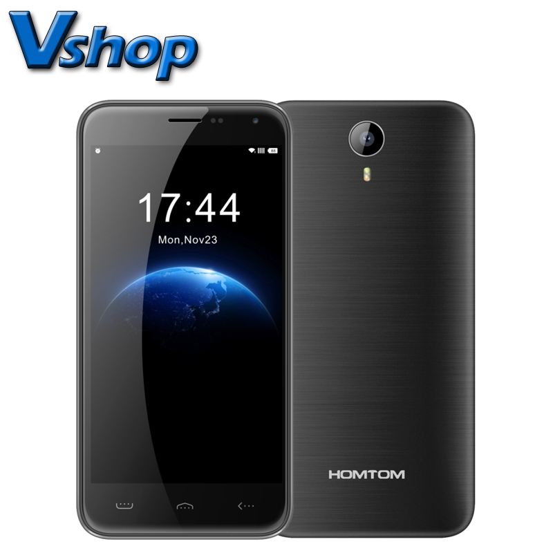 HOMTOM HT3 3G Android 5.1 5.0 inch RAM 1GB ROM 8GB MTK6580A Quad Core Support FM Dual SIM Smartphone
