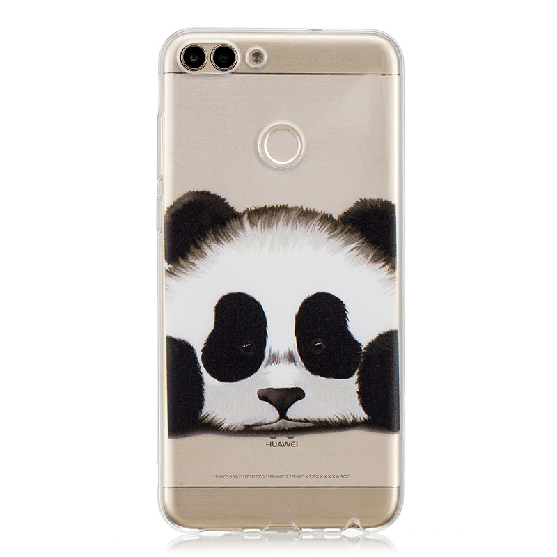 TPU Case For Huawei P smart Enjoy 7S Silicone Phone Cover For Huawei Enjoy 7s Print Painted Back Shells For Huawei P smart Bags