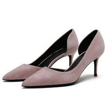 Hot Sale Design Women Pumps 2019 Fashion Sexy Classic 6 CM High Heels Spring Casual Shoes Night Club Shoes Woman F0068 цены онлайн