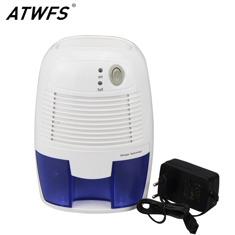 цена на High Quality Portable Mini Dehumidifiers for Home Electric Quiet Air Dryer 500ML Water Tank Air Dehumidifier Quiet Air Dryer