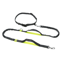 Hands Free Pet Dog Running Leashes For Walking Jogging Dog Leash Rope Reflective Dog Collars Nylon
