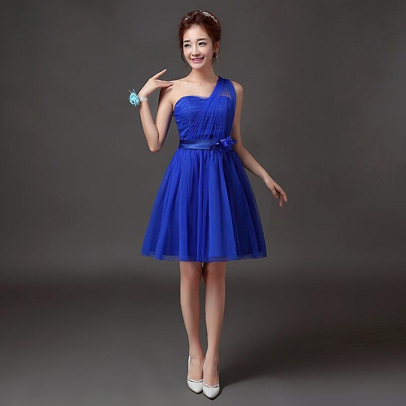 Flower 10 Colors Prom Dresses Short Tulle Party-dress Gowns Banquet Party Prom Dresses Graduation Dresses PRO30030