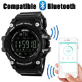 New SKMEI Brand Men's Smart Sport Watch Bluetooth Calorie Pedometer Fashion  Watches Men 50M Waterproof Digital Clock Wristwatch