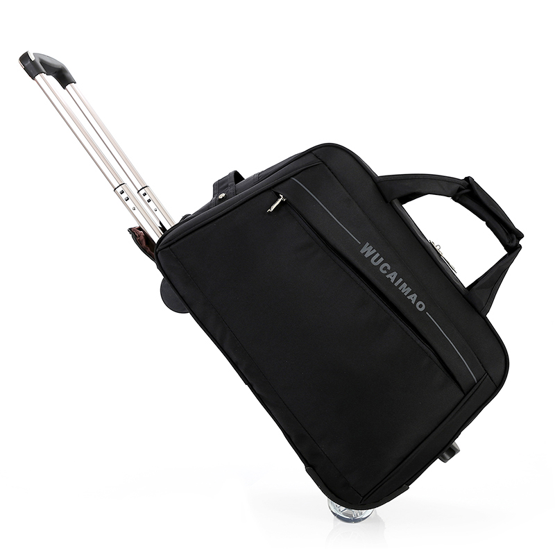 New Rolling Luggage Travel Bag Shoulder Spinner Handbag High Capacity Suitcase Wheels Multifunction Trolley Carry on Trunk 2018 цена