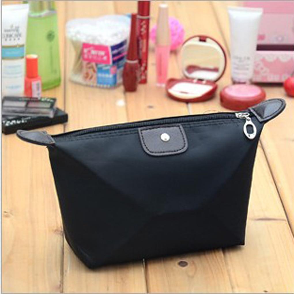 FangNymph 2018 New Small Multi-functional Women Waterproof Nylon Pouch Bag Handbag Travel Make Up Cosmetic Toiletry Storage Bags