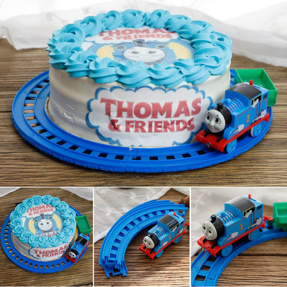 Cake Toppers Cupcake Decoration Cartoon Thomas Small Train