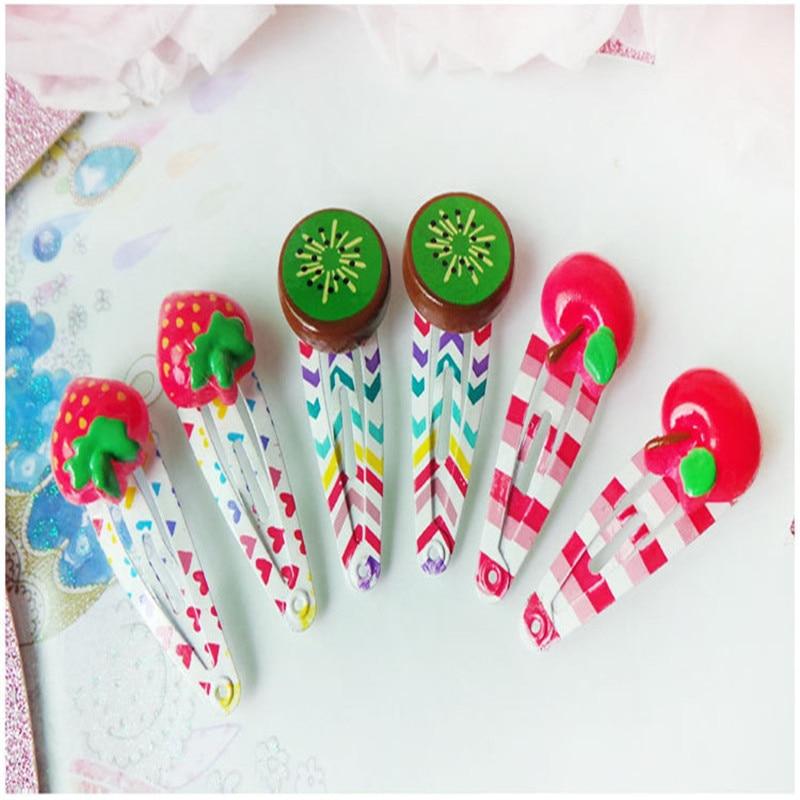 Fashion Korean Hair Clip Flower Star Hairpins Handmade Resin 3cm Pearls Headband Hair Accessoires for Girls Princess Gift 12 Pcs