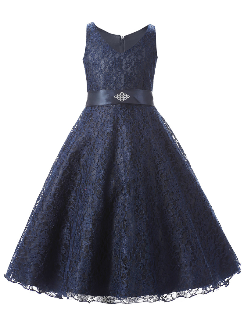 Buy teenagers kids party wear gowns 2016 for Wedding party dresses for girl