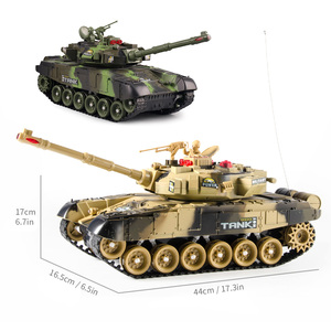 44cm RC Tank 24Mhz Charge RC B