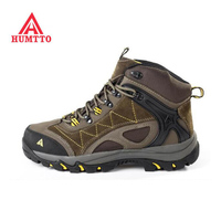 HUMTTO 2017 Top Quality Genuine Leather Men S Hiking Shoes WINTER Outdoor Sports Sneakers Climbing Trekking