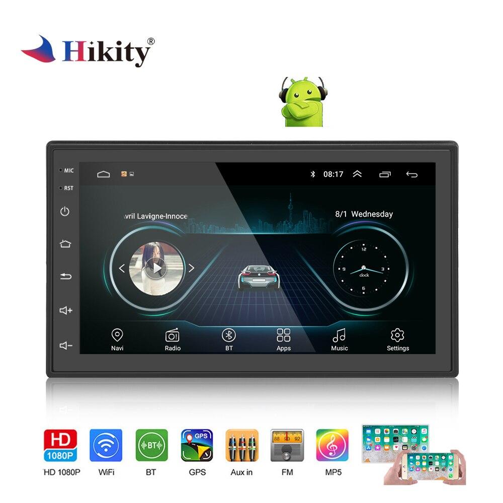 Hikity 2 Din Android GPS autoradio 7
