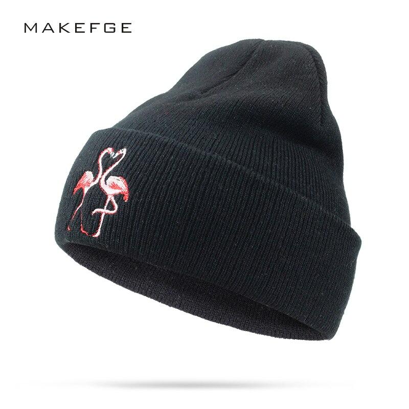 autumn Winter   Beanies   Women Knit Hat Winter Hats For Women Ladies Girls Caps Balaclava Pompom Bonnet Warm   Skullies     Beanies   Hat