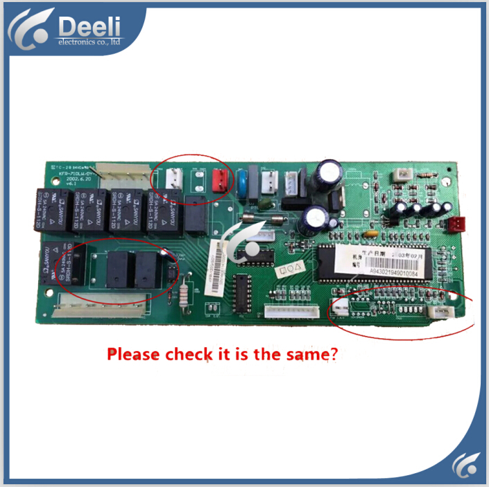 ФОТО 95% new good working for Midea air conditioning KFR-120Q/SDY A KFR-71DLW/DY-1 V6.1 pc board control board on sale
