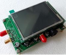 ADF4355 250 M-6.8G ecrã táctil a cores de módulo de fonte de sinal de varredura de freqüência VCO PLL sintetizador de freqüência de microondas