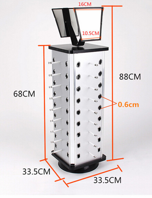 Exhibition Stand Measurements : Aluminum plastic board eyeglass sunglasses display holder