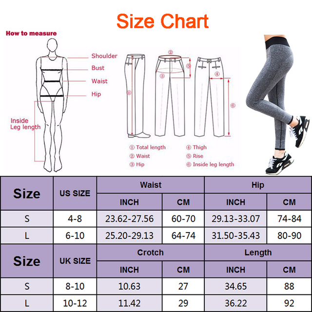 Elastic Waist Legging Yoga Pants, Breathable