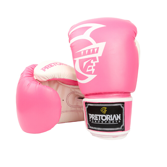 8 - 16 OZ Fitness Pretorian Grant Luva Boxe MMA Training Boxing Gloves In Pink PU Women Muay Thai Mixed Martial Art Mitts  цены