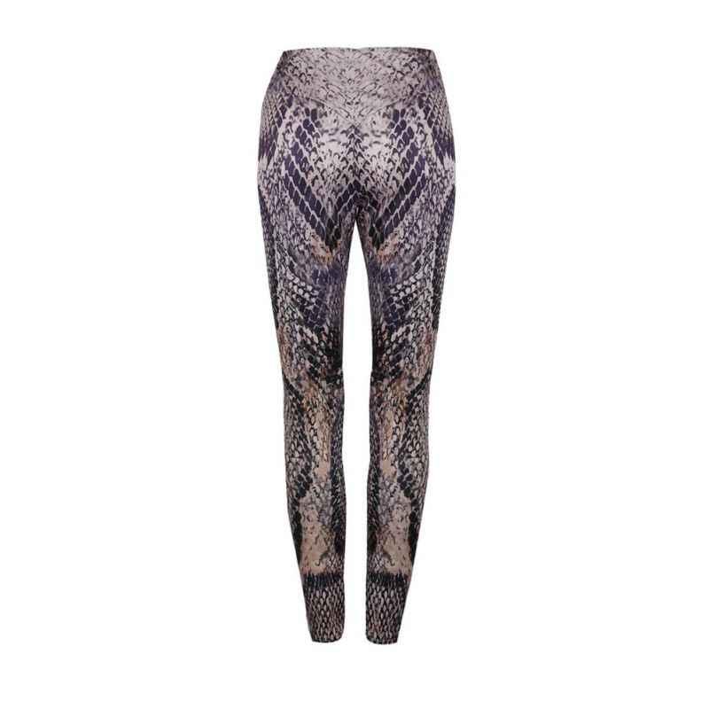 789a19f8678 ... Women Fitness Skinny Snake Skin Printing Fitness Leggings Women  Ankle-Length Fashion Bottom Push Up ...