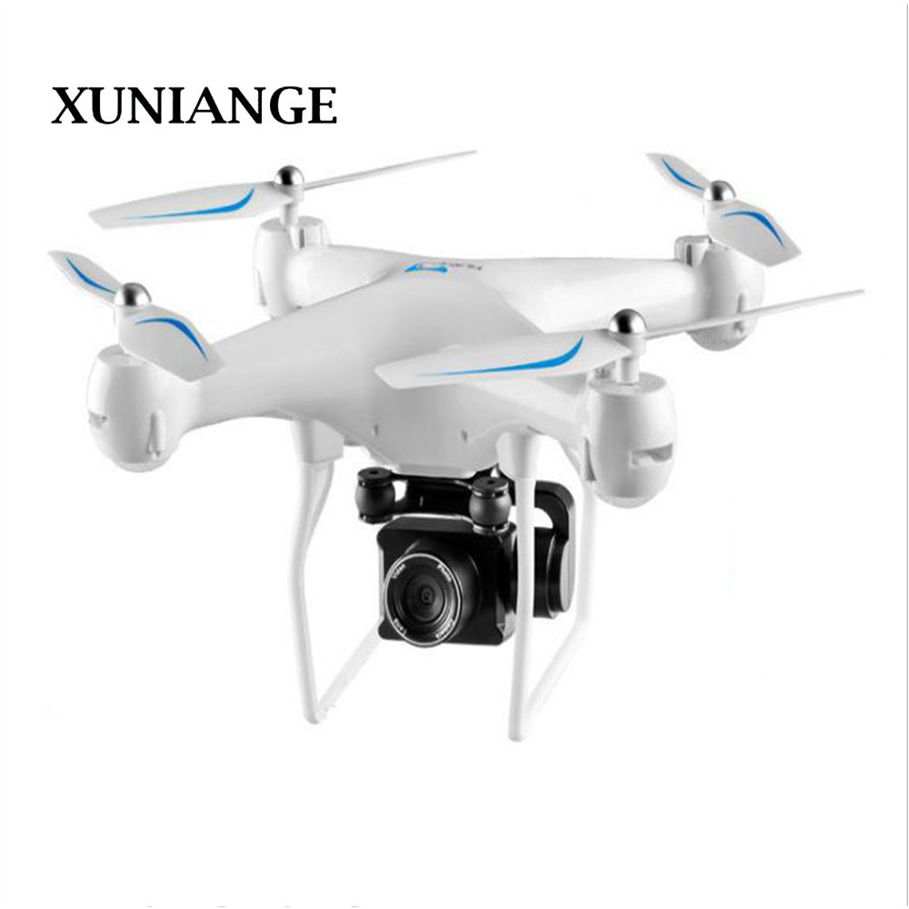 XUNIANG720P drone aerial photography HD electric remote control helicopter RC four-axis aircraft fixed height toy\