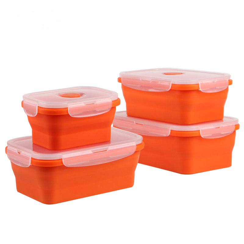 Portable Silicone Lunch Box