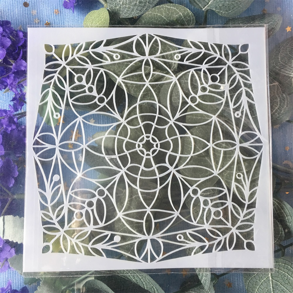 Cloud Stencils Template Painting Scrapbooking Embossing Stamping Album Card DIY