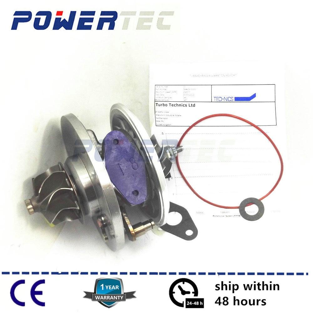 GT1749V Turbocharger core For Citroen C8 2.0 HDI DW10UTED4 88Kw 2007- turbo cartridge CHRA 764609 764609-5001S 0375L4 gt1549p 707240 turbo replacement chra turbocharger parts citroen evasion 2 2hdi oem 0375h0