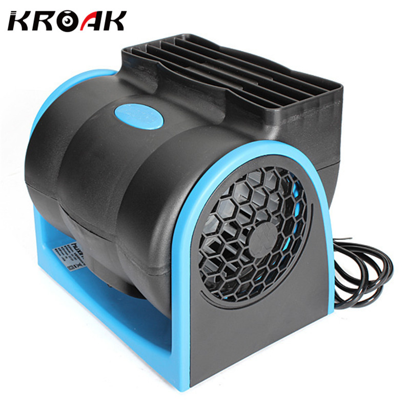 portable car vehicle truck cooling air fan 12v adjustable low noise silent cooler fan 2 speeds - Portable Air Conditioner For Car