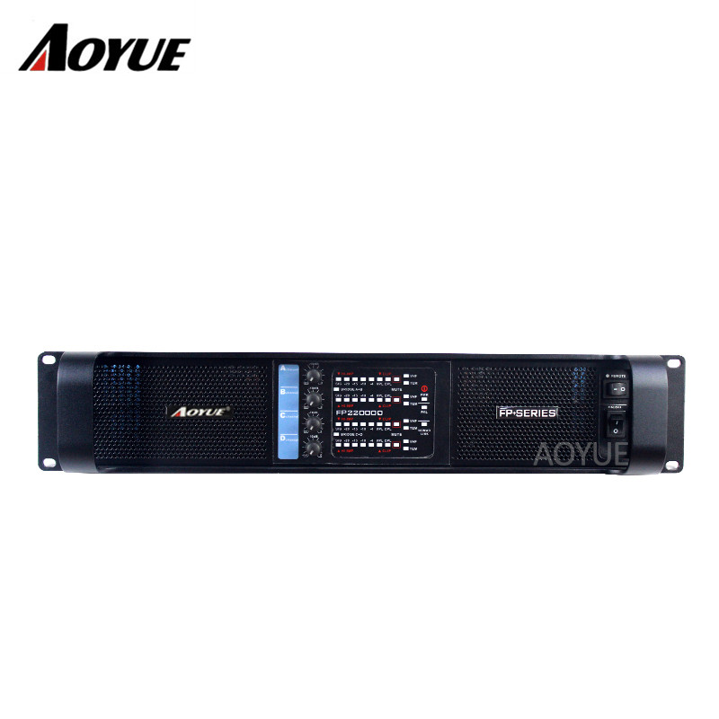 Aoyue newest 2500W*4 channels professional power amplifier for subwoofer цена