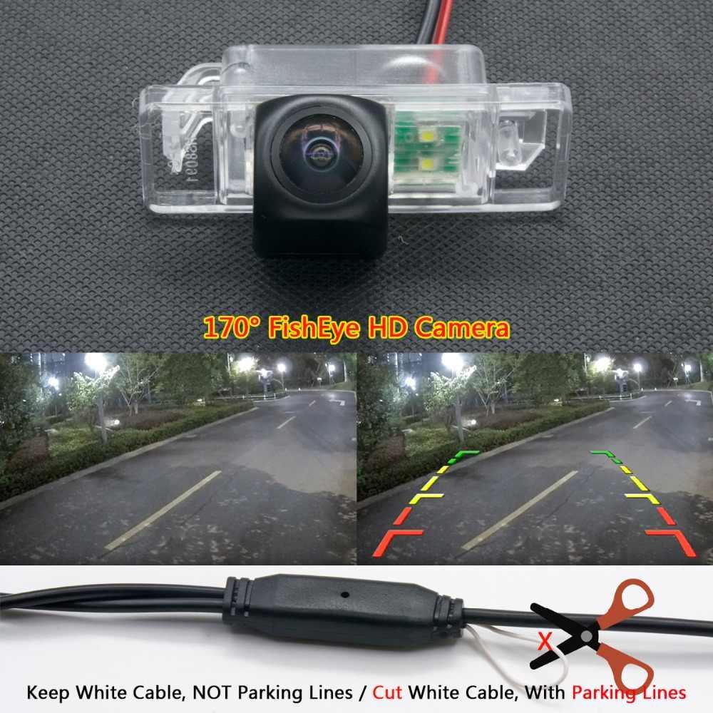 175 度 1080 1080P 魚眼レンズ車のリバースリアビューカメラ日産キャシュカイエクストレイルジェニスプジョー 307 308 パスファインダー車