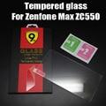 Para asus zenfone max vidrio templado protector de la pantalla 2.5 9 h película protectora de seguridad en zc550kl 550kl zenfone 5000 zc550
