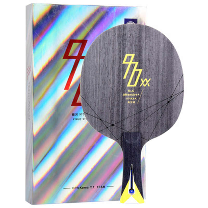 YINHE 2018 New 970XX -K (970XX-K, 5+2 KLC, Used by DPR Korea Team) Kevlar Carbon Table Tennis Blade Ping Pong Bat Paddle Paddle