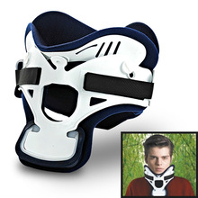 Adjustable Medical Cervical Vertebra Tractor Traction Neck Support Brace Treatment For Neck Pain Spondylosis Cervical Gear недорого