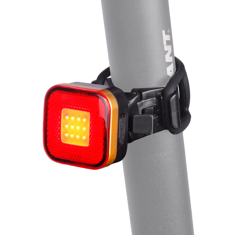 Bicycle Rear Lamp Aero Blade Round Seatpost Mount W/ Bag Clip Up To 50 Hours USB Charge LED COB Lantern Cycling Warning Light
