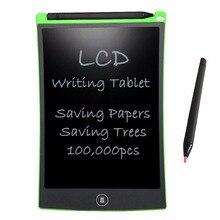 NEWYES Verde di Scrittura LCD Tablet da 8.5 pollici Tavolo Da Disegno Elettronico Pastiglie Portafoglio per I Bambini del Giocattolo del Regalo Riutilizzabile Cancellabile Tabellone messaggi