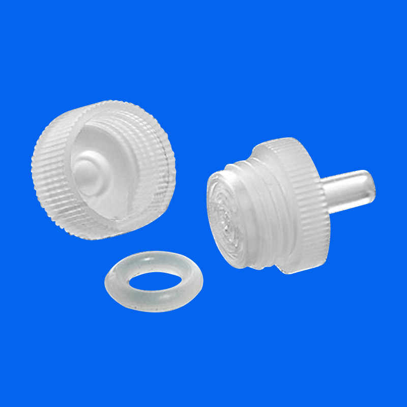 Replaceable membrane syringe filter head 13/25/50mm removable needle filter  head reusable PP filter Chromatographic filter head