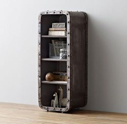 Индустриальный Лофт железный шкаф 4-Слои книжный шкаф Ящики для гостиной шкаф Спальня открытый шкаф/прикроватный светильник/многофункцион...