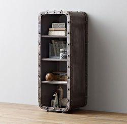 Loft Industriellen Eisen Locker 4-Schicht Bücherregal Wohnzimmer Schrank Schlafzimmer Öffnen Schrank/Nacht/Eimer Schrank