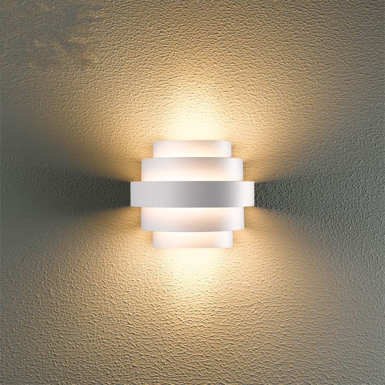 Simple led wall lamp living room waterproof outdoor sconce for Living room 2700k or 3000k