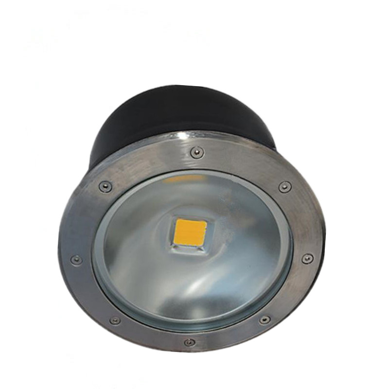 Free shipping 30W 50W COB LED underground light IP68 Buried recessed floor outdoor lamp AC85V-265V 10pcs lot 50w cob underground floor recessed lamp foot lamp led underground lamps buried ground12v 24v 85 265v buried lights