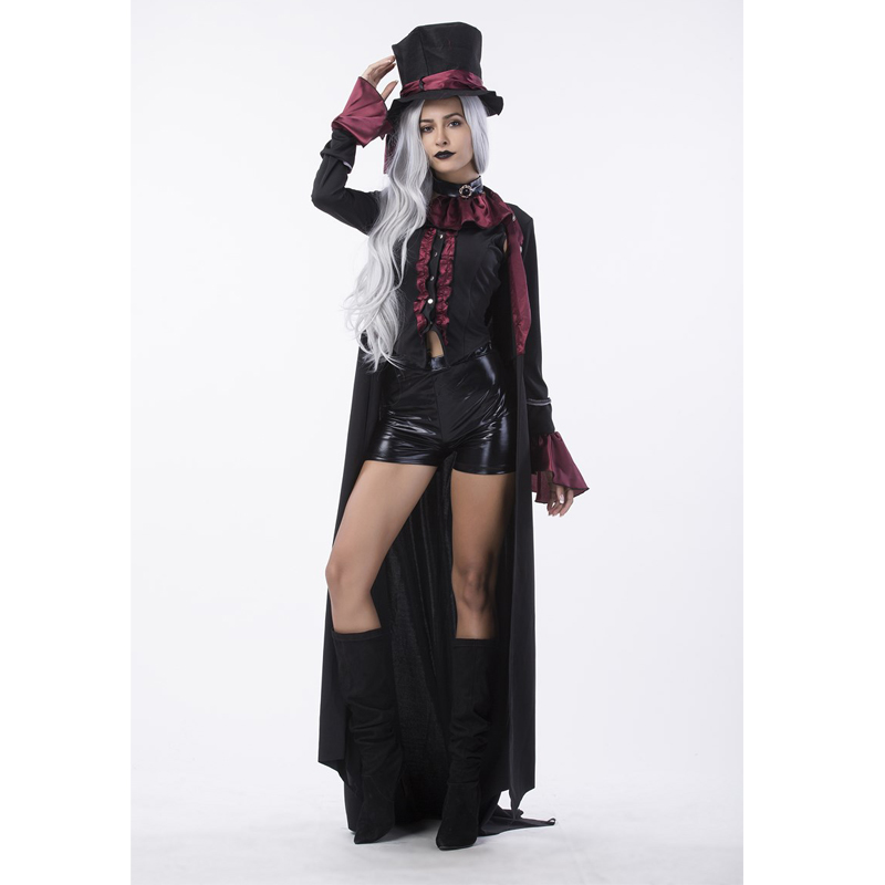 Gothic Vampire Costume Womens