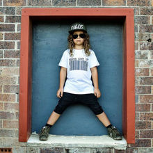 Newest Fashion Baby Boys Summer T-shirt Outfits !! Kids Infant Girls Casual Black&White Tops Black Short Pants