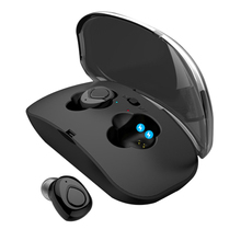 New HAOBA X18S Bluetooth V4.2 TWS Earphone Waterproof Wireless Stereo Earbud for XIAOMI iphone Phone With Charging Box