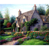 DIY Diamond Painting Landscape Garden Cottage New 5D Cross Stitch Pattern Resin Diamond Embroidery Mosaic Full