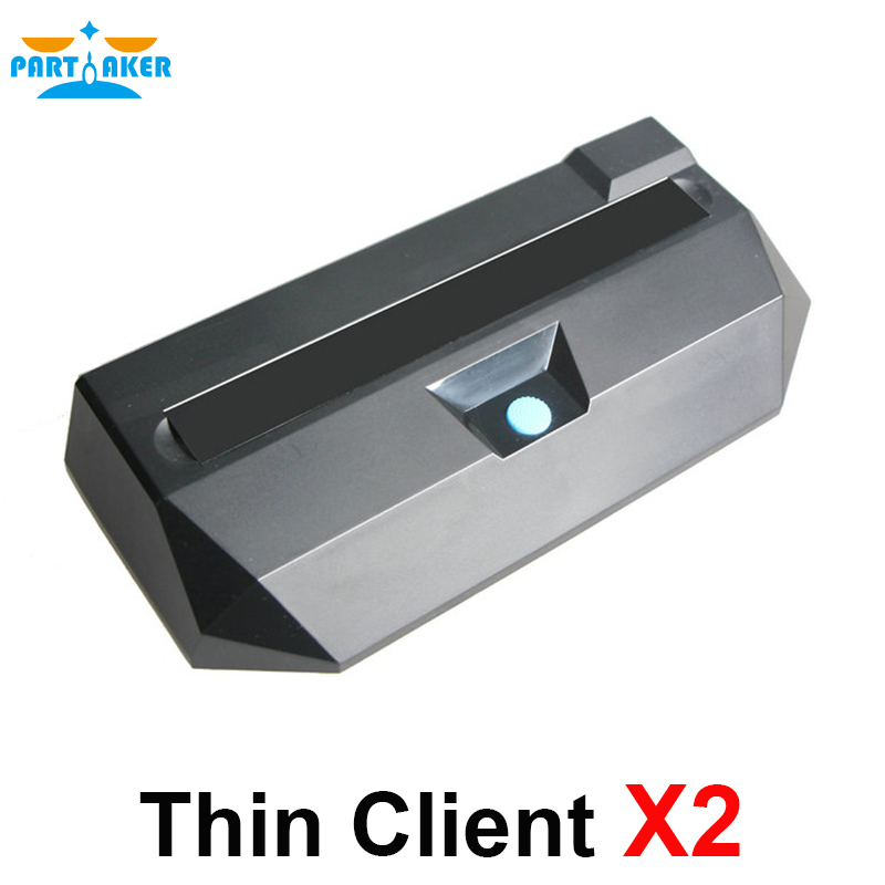 Partaker Thin Client X2 with Linux OS Dual Core Processor RDP7 Protocol for Classroom Call Center CBT Office