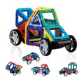 Similar tijolos 46 peças 3D brinquedo DIY brinquedo educativo para crianças blocos de construção magnético presente de aniversário para crianças