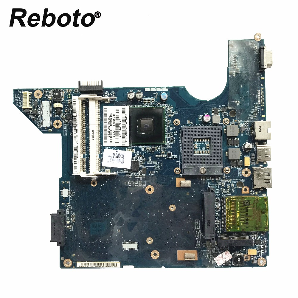 Reboto High quality For HP CQ40 Laptop Motherboard DDR2 GL40 577511-001 JAL50 LA-4101P MainBoard 100% Tested Fast Ship