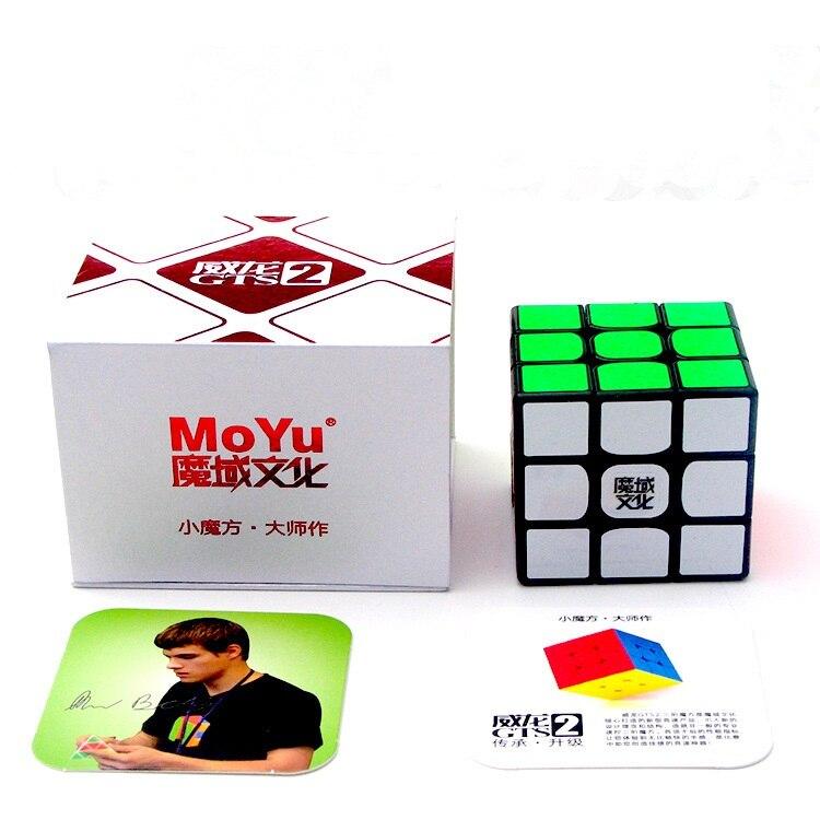 Moyu WeiLong GTS2 3X3X3 Speed Cube Puzzel WeiLong GTS 2 Voor Kinderen Speelgoed